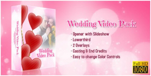 After Effect Project - Wedding Video Package