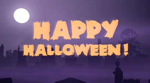 Happy Halloween - Project for After Effects