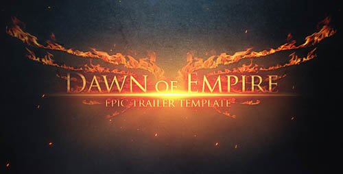 Epic Trailer - Dawn of Empire - Project for After Effects (Videohive)