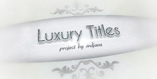 Luxury Titles Pack- Project for After Effects (Videohive)