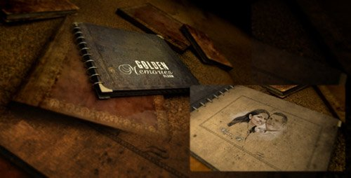 Golden Memories Album - Project for After Effects (Videohive)