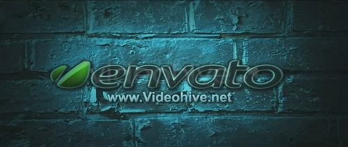 Logo on the Bricks - Project for After Effects (Videohive)