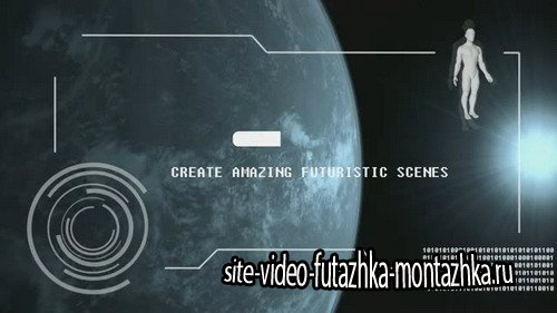 Alien Interface - After Effects Template
