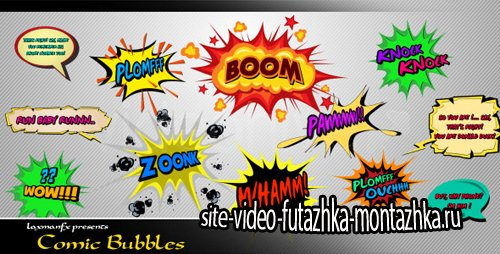 Comic Bubbles - Project for After Effects (Videohive)