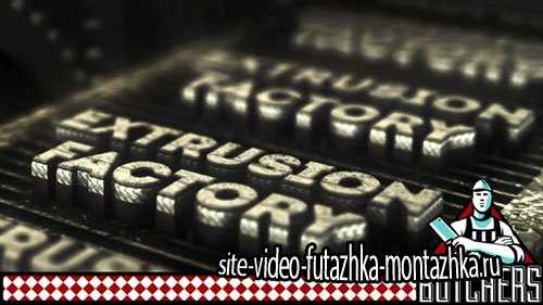 Extrusion FactoryI - Project for After Effects (Videohive)