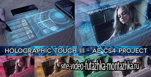 Holographic Touch III - Project for After Effects (Videohive)