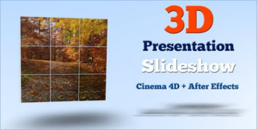 After Effects Project - 3D Presentation Slideshow