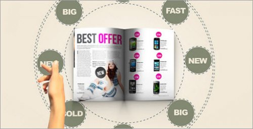 After Effects Project -   In Magazine