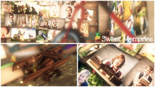 After Effects Project - Sweet Memories