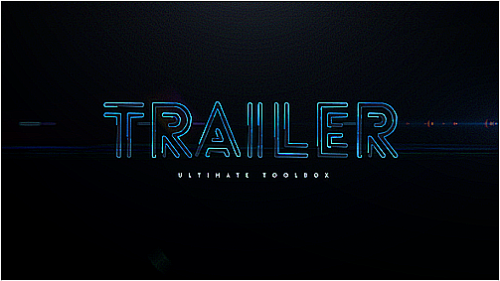 After Effects Project - Blockbuster Trailer Toolbox