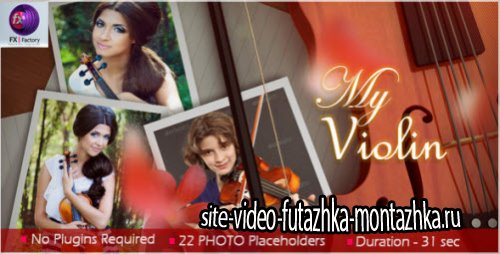After Effects Project Videohive My Violin