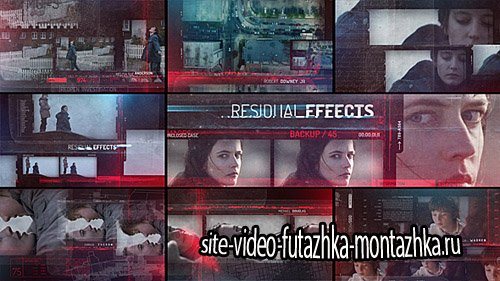 Residual Effects - Movie Opening Titles - Project for After Effects (Videohive)