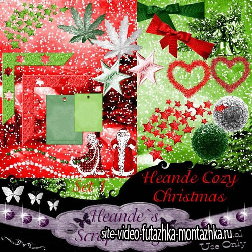 Heande Cozy Christmas PNG and JPG Files