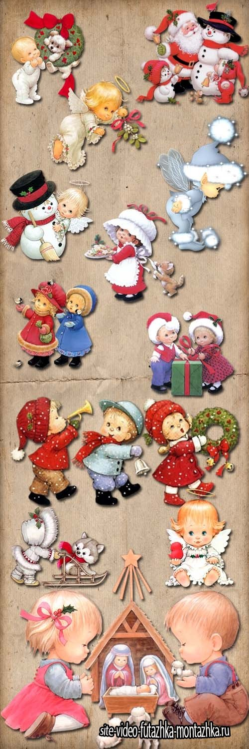 Winter characters Ruth Morehead PNG Files