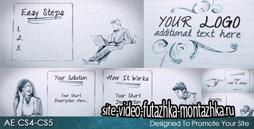 Quick Sketch - Project for After Effects (Videohive)