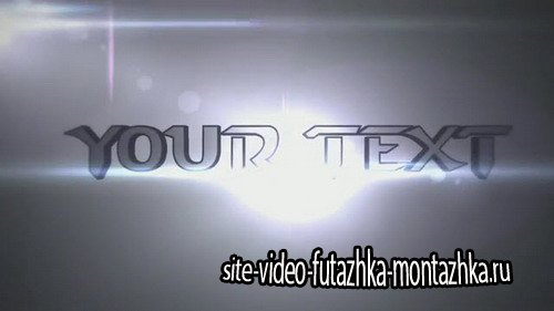 3D TEXT intro - After Effects Template
