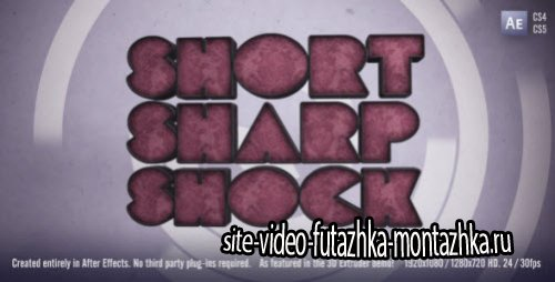 After Effects Project - Short Sharp Shock