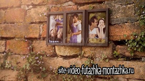 Videohive Photo Frame for Three Romantic Pictures