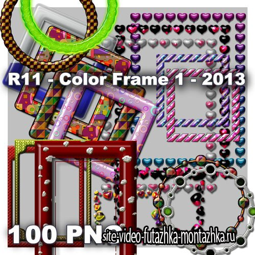 Color Frame 1 PNG Files