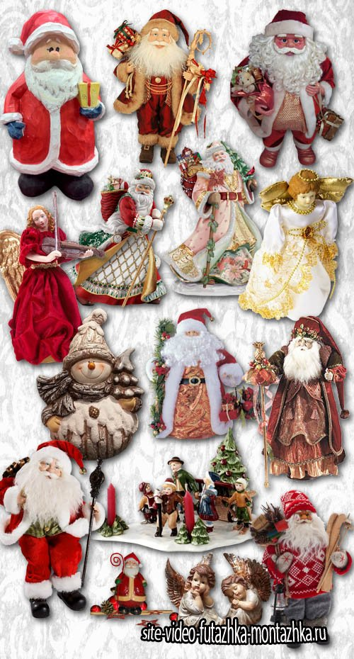 Statuettes and figurines of Santa Claus