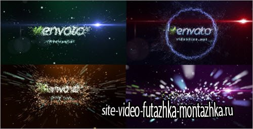 After Effect Project - Transformation of particles