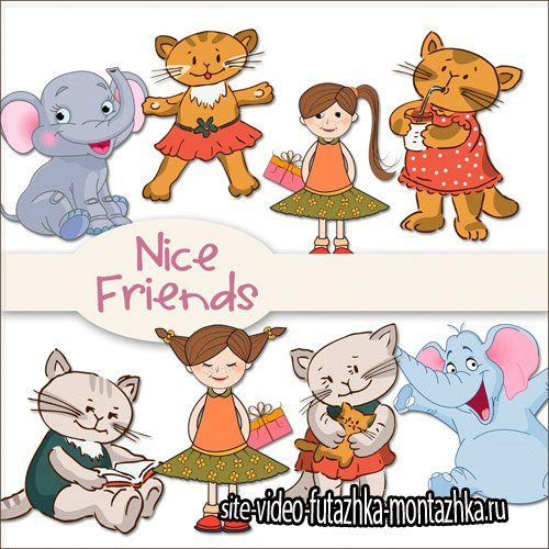 Nice Friends PNG Files