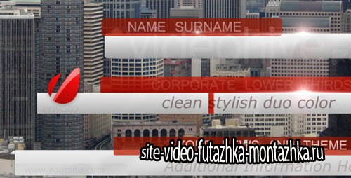 After Effect Project - Bussines, News Lower Third Pack full HD