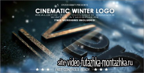 After Effect Project - Cinematic Winter Logo