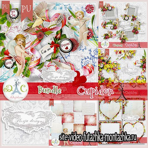 Scrap-kit Cupidon