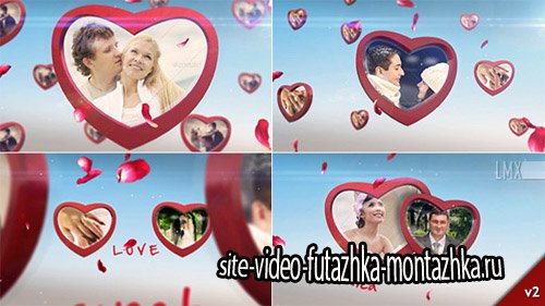 Heart Frame Gallery - Project for After Effects (Videohive)