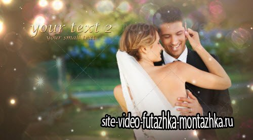 Wedding slideshow — After Effects Template
