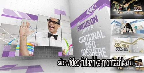 After Effect Project - Creative Video Wall Presentation
