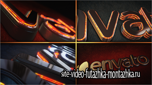 After Effect Project - Magma Glow Logo Reveal