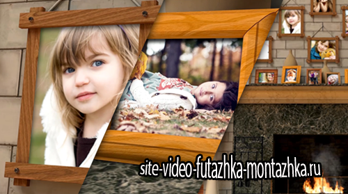 After Effect Project - Fireplace Warm Photo Memories