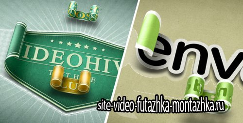 Unwrapping 3D Stickers Labels & Titles - Project for After Effects (Videohive)