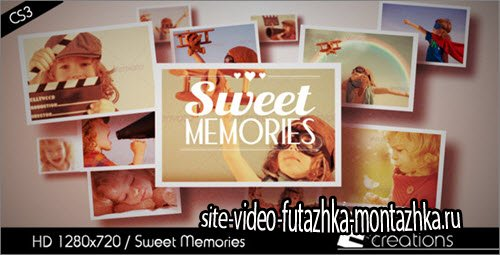 After Effect Project - Sweet Memories