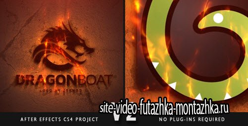 After Effect Project - Epic Fire Logo