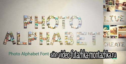 After Effect Project - Photo Alphabet