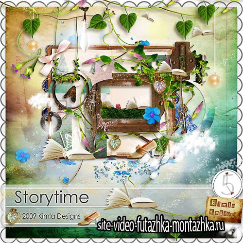Scrap - Storytime Kit PNG and JPG Files