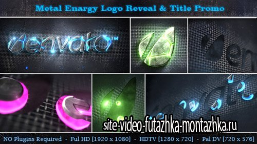 Metal Energy Logo Reveal & Title Promo - Project for After Effects (Videohive)
