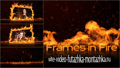 After Effect Project - Frames in Fire