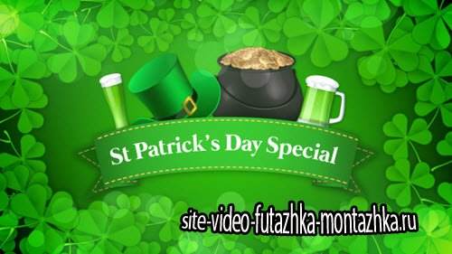 After Effect Project - St Patrick's Day Special Promo