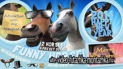 Funny Horse Opener - Project for After Effects (Videohive)
