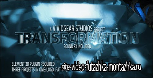 After Effect Project - E3D Transform Text, Path, Logo