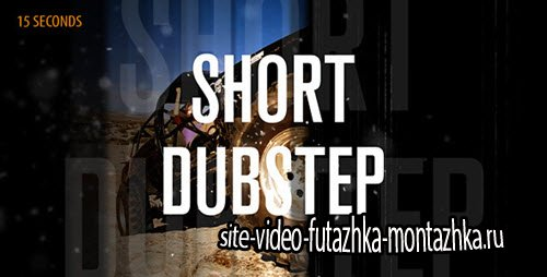 After Effect Project - Short Dubstep