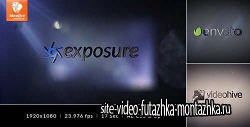 After Effect Project - Exposure - Logo Intro
