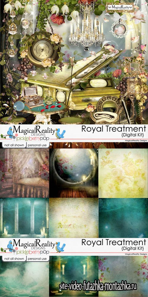 Scrap - Royal Treatment PNG and JPG Files