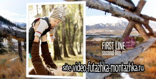 Rustic Outdoor Photo Gallery - Project for After Effects (Videohive)