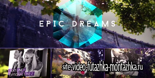 After Effect Project - Epic Dreams Gallery
