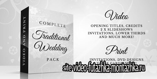 After Effect Project - Complete Traditional Wedding Pack